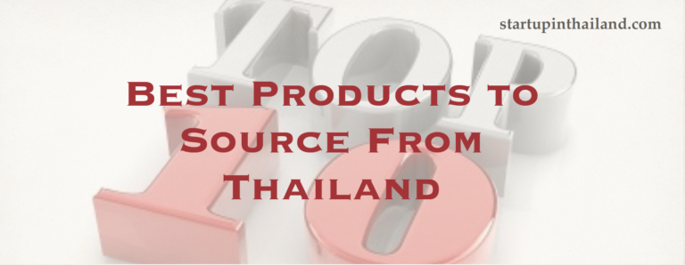 Top 10 Products That Can Be Sourced From Thailand